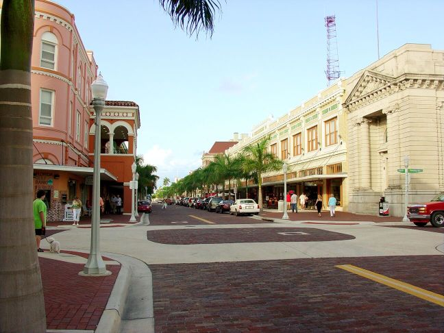 First Street post-revitalization